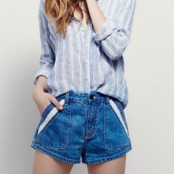 Free People Pants - Free people - High Rise Shorts